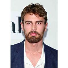 Theo James with beard