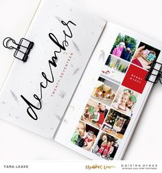 Kelly here and today I am bringing you some new creative team inspiration that will surely get you into the holiday spirit! I am sharing projects that the team has created with the December … Travel Journal Scrapbook, Project Life Scrapbook, Scrapbook Albums, Travel Journals, Travel Books, Christmas Scrapbook Layouts, Scrapbook Paper Crafts, December Daily, Studio Calico