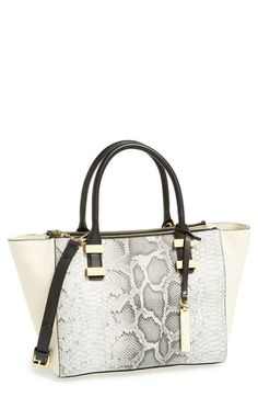 Vince Camuto 'Mandy' Leather Satchel available at #Nordstrom