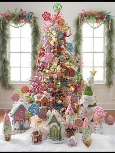 Candyland Christmas..LOVE IT!!!