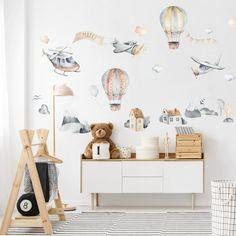 Krásne samolepky vláčikov s doplnkami na stenu | INSPIO Home Decor, Decoration Home, Room Decor, Home Interior Design, Home Decoration, Interior Design