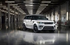 Range Rover Sport Stealth Pack heading to Goodwood Festival of Speed 2014.