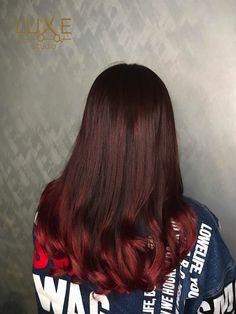 Korean Wave Perm Sakura Pink Balayage Hair Color