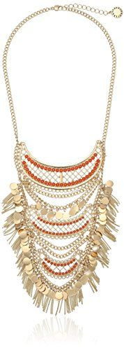BCBGeneration Fringe Drama Necklace 16  2 Extender * Details can be found by clicking on the image. (This is an affiliate link and I receive a commission for the sales)