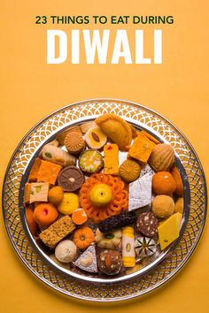 Diwali is one of the most beautiful festivals but it's also a time to eat! With so many options discover the Diwali festival foods you can't miss. babies flight hotel restaurant destinations ideas tips Indian Desserts, Indian Sweets, Indian Food Recipes, Diwali Snacks, Diwali Food, Diwali Recipes, Diwali Festival, Food Festival, Time To Eat