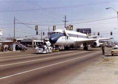 "Transporting the ""Lisa Marie"" Elvis Presley Memories, Elvis Presley House, Elvis Presley Graceland, Elvis Presley Images, Elvis Presley Music, American Legend, American History, Memphis International Airport, Autos"