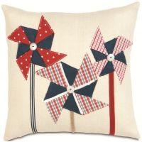 Americana - Pin Wheelin Pillow