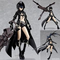 Max Factory Figma - Black Rock Shooter - Action figure.