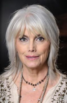 Great Hairstyles for Women in Their 60s: Emmylou Harris (1947)