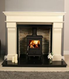 Arizona Newark S2 6.6 kW Multi Fuel Wood Burning Stove