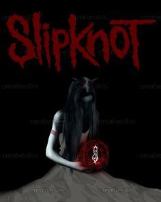 Slipknot Poster by kittyXX on CreativeAllies.com