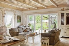 country house interior in warsaw