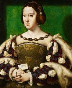 Joos van Cleve (1485-1540) Netherlands France of Queen Eleanor