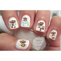Baby Shower Monkey Nail Art Decals *** Be sure to check out this awesome product. (This is an affiliate link) #ToolsAccessories