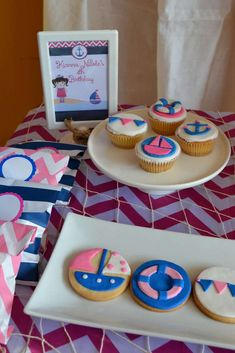Nautical Birthday Party Ideas | Photo 8 of 20 | Catch My Party