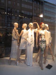 Zara window display, London, June 2012