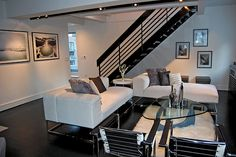 NYC Duplex Living Room Interior Design
