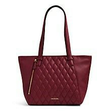 Small Avery Tote in Claret!