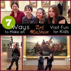 Art museum fun: get your kids to slow down and look at what's in an art museum that will capture their interests and inspire their imaginations