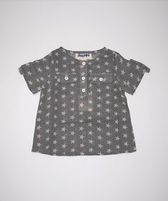Siaomimi Henley Shirt (Charcoal Star)
