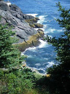 Monhegan Island Maine USA