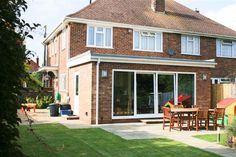 T G Norris Architectural Design & Planning Services in the London Area. Services include extension plans and building plans anywhere in London. Lean To Conservatory, Conservatory Extension, Conservatory Design, Extension Plans, Rear Extension, Extension Google, Semi Detached, Detached House, Single Storey Extension