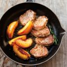 Try the Pork Medallions with Roasted Nectarines Recipe on williams-sonoma.com/