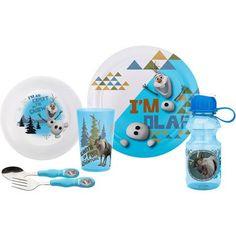 Zak Designs Frozen 6-Piece Dinnerware Set, Blue - Walmart.com