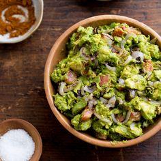 Smoky Guacamole with Charred Shallots | Food & Wine