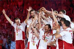 The FIVB Volleyball Men's World Championships Poland 2014 is an international men's volleyball competition scheduled to take place in Poland from 30 August to 21 September 2014 We Are The Champions, Ski Jumping, Volleyball Players, Mans World, World Championship, Poland, Skiing, Competition, Sports