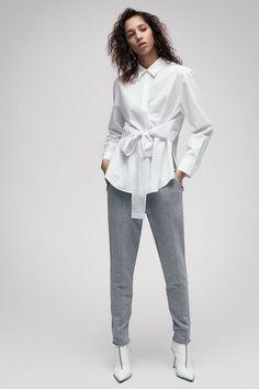 Выкройка блузы с декоративным бантом (р-р 40-60) | Шить просто — Выкройки-Легко.рф