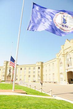 Day trip to visit my husband's Alma Mater - Barracks at Virginia Military Institute, Lexington, VA