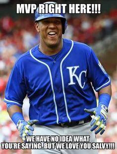 Kansas City Royals - 2015 WORLD SERIES CHAMPS!! SALVY