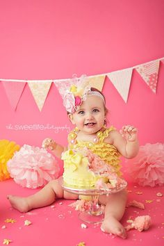 Baby Girl Nursery Decor 4 Feet Party Banner by vintagegreenlimited, $17.00