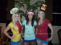 Great Last-Minute Sexy Girl Group Costume Idea: Snap, Crackle and Pop!