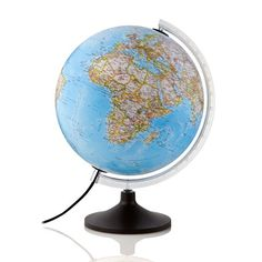Globe terrestre lumineux Cobalto