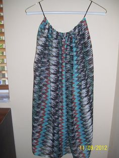 Flowing Belt Top by CaraMiaDesigns on Etsy, $25.00