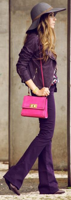 Well, I had to add this because my fave color is: PURPLE!!!!!!!!! Look Du Jour: Lilac wine by Fashion Coolture