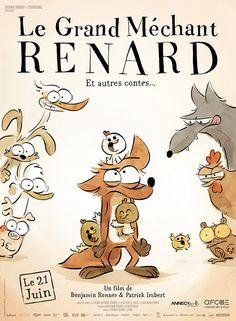 Le Grand Méchant Renard : sortie 21 juin 2017 (long-métrage de Benjamin Renner et Patrick Imbert) - News | Catsuka