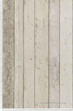 Planches marron - Papier peint