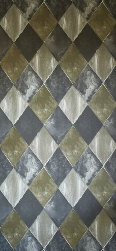 Harlequin Raw gold  Wallpaper by Helene Blanche