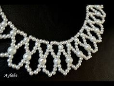 """Aylake - How to make beaded necklace """"Endless tears"""" - YouTube"""