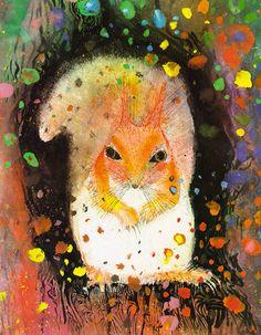 Brian Wildsmith - Squirrels