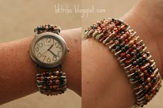 Beautiful Safety Pin Bracelet - {Tutorial} - Between U & Me
