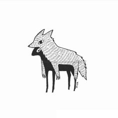 Ideas Tattoo Wolf Sketch Awesome The Effective Pictures We Offer You About tattoo ideas Pretty Art, Cute Art, Art Sketches, Art Drawings, Character Art, Character Design, Wolf Sketch, Wolf Tattoos, Faith Tattoos