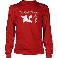 nice Tai Chi Chuan Long Sleeved Tee  Check more at https://9tshirts.net/tai-chi-chuan-long-sleeved-tee/