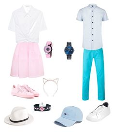 """""""Twin"""" by estherbc on Polyvore featuring Tod's, Nasty Gal, Simone Rocha, T By Alexander Wang, rag & bone, PT01 Pantaloni Torino, River Island, Original Penguin, Kenneth Cole and Vineyard Vines"""