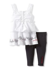 Only the best Calvin Klein outfit for her.  $17  Get them now at  http://ilovebabyclothes.com/?product=calvin-klein-baby-girls-infant-top-with-pants