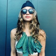 kale necklace - laura miller