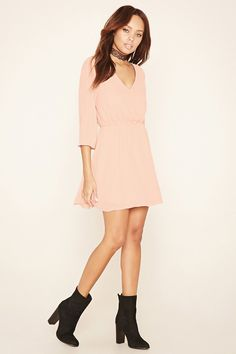 Chiffon Peasant Dress...LOVE....this would sit so cute above your belly and the color is perfect